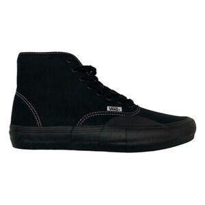 New Vans X Hockey Aa Authentic Hi Pro Black Black Sneakers Skate Shoes 2020 Ebay