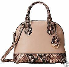 Michael Kors Tasche/Umhängetasche Smythe SM Dome Satchel  Leather Blush  NEU