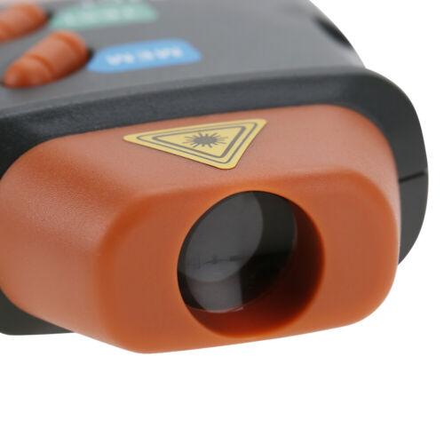 DT-2234C Berührungsloser Digital LCD Tachometer Laser RPM Drehzahlmesser