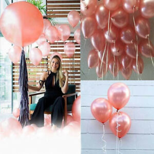 10pcs-Rose-Gold-Helium-Wedding-Latex-Party-Wedding-Decoration-Balloon-Set
