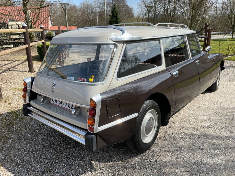 Citroën DS23 2,3 Break Commerciale Benzin modelår 1972 km