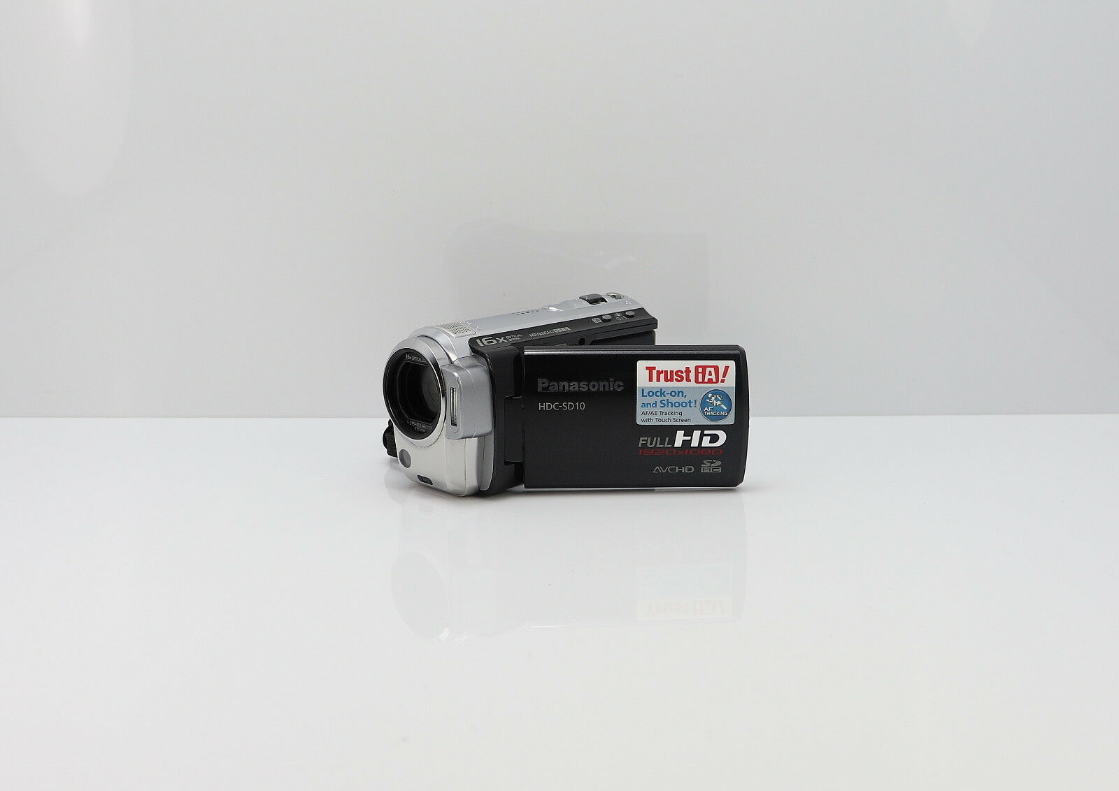 Panasonic hdc sd10 scheda sdhc camcorder hd digital ad for Definizione camera