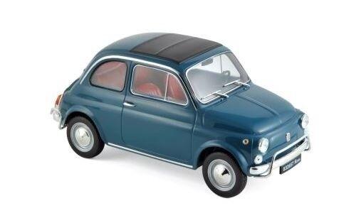 Fiat 500 L 1968 Bleu 1 1 18 Norev