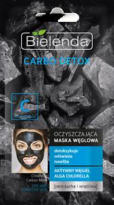 Bielenda CARBO Detox-maschera di pulizia per E SENSIBILI PELLE SECCA - 8g