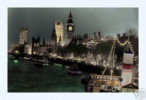 2019 DernièRe Conception Photographique Affiche : Rivière Thames Avec Big Ben, Londres