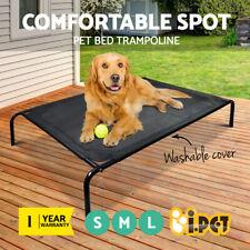 i.Pet Pet Bed Trampoline Dog Puppy Cat Heavy Duty Frame Hammock Mesh S M L