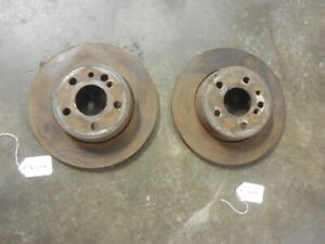1992-1999-Mercedes-W140-S-Class-Pair-of-Rear-Left-Right-Brake-Rotors