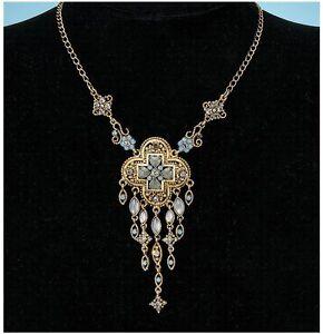 Byzantine-Cross-Moonstone-Necklace-amp-Earrings-Ensemble