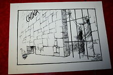 WANG DAN TIANANMEN SQUARE CHINA PRISON RELEASE JEFF KOTERBA POLITICAL CARTOON