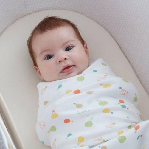 Gro Grobag Envoltura Swaddle recién nacido Pañales cadera sana 0-3 meses 100/% algodón