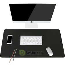 Non Slip Desk Pad Waterproof Pu Leather Work Desk Protector Ultra Thin Large Mat
