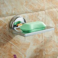1PC Removable Soap Holder Sucker Storage Dish Holder Press Lock Bathroom Supply