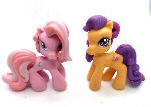 MY-LITTLE-PONY-PONYVILLE-2-Pc-Lot-of-MLP-Mini-Figures-Ponies-G3-5-G3-PVC