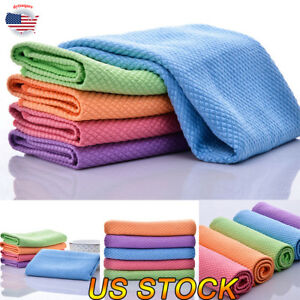 5PCS-Lot-Microfiber-Dishcloth-Square-Kitchen-Washing-Cleaning-Towel-Dish-Cloth