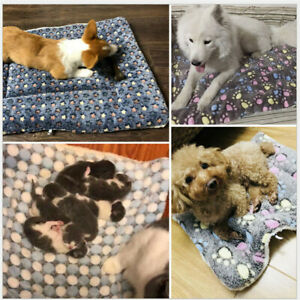 Cuscino-Cane-Gatto-Cibo-Lettino-Coperta-Materasso-Cuccia-Animali-Stai-al-Caldo