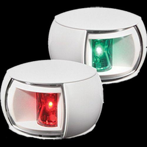 Hella Navigation Light LED, Pair, 2nm, Clear Lens, Weiß