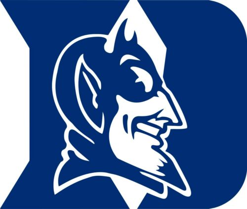 Made in USA # Free shipping DUKE   corn hole set of 2 decals