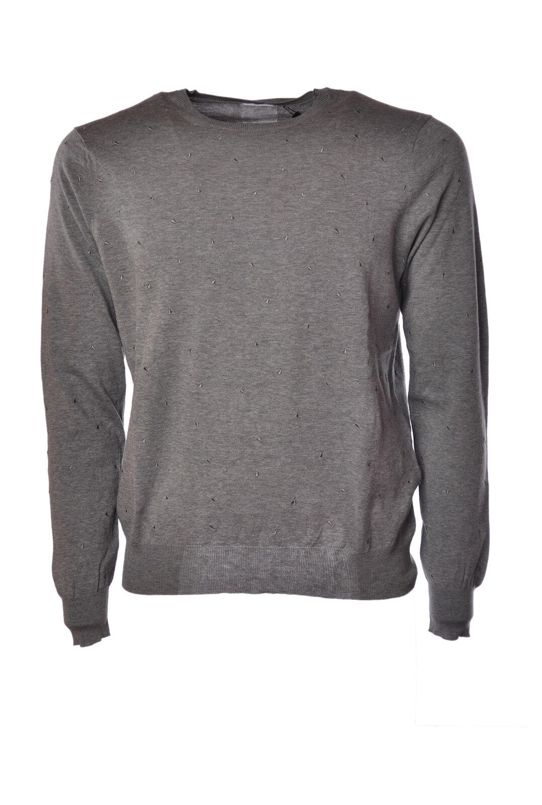 Hosio  -  Sweaters - Male - Grau - 1799810A184338