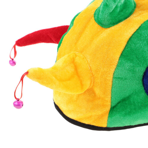 Unisex Dragon Tail Clown Jester Pizza Crab Hat Christmas Party Cap Costume Props