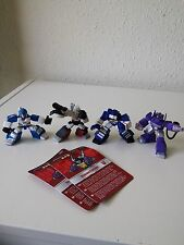 Transformers g1 Robot Heroes Lotto, megatron, Soundwave, Mirage, Shockwave 2007