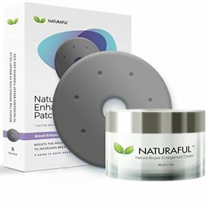 be791870a9ae Details about NEW NATURAFUL - Breast Enhancement Cream & Enhancement Patch  BUNDLE.