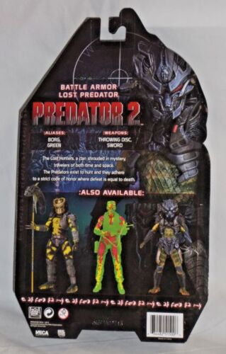 NECA PREDATOR 2 Series 11 BATTLE ARMOR LOST horror movie AUTHENTIC action figure