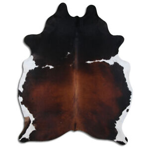 Brazilian Cowhide Rug Top Quality Black