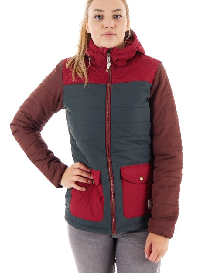 O 'Neill fonction veste IMPERMEABLE Molten lila gesteppt thinsulate ™