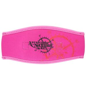 Adventure-At-Nature-Neoprene-Pink-Mask-Strap-Cover-Scuba-Diving-Dive-Freediving