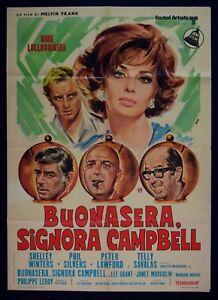 M146-Manifesto-2F-Buenas-Noches-Signora-Campbell-1-ED-IT-1969-Lollobrigida