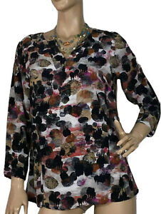 BLUE-ILLUSION-SIZE-XS-8-LONG-SLEEVE-TOP-AS-NEW