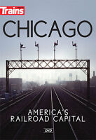 Chicago - America's Railroad Capital Dvd Kalmbach Publishing Trains Video