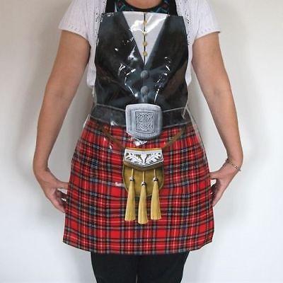Scottish Icons PVC Apron