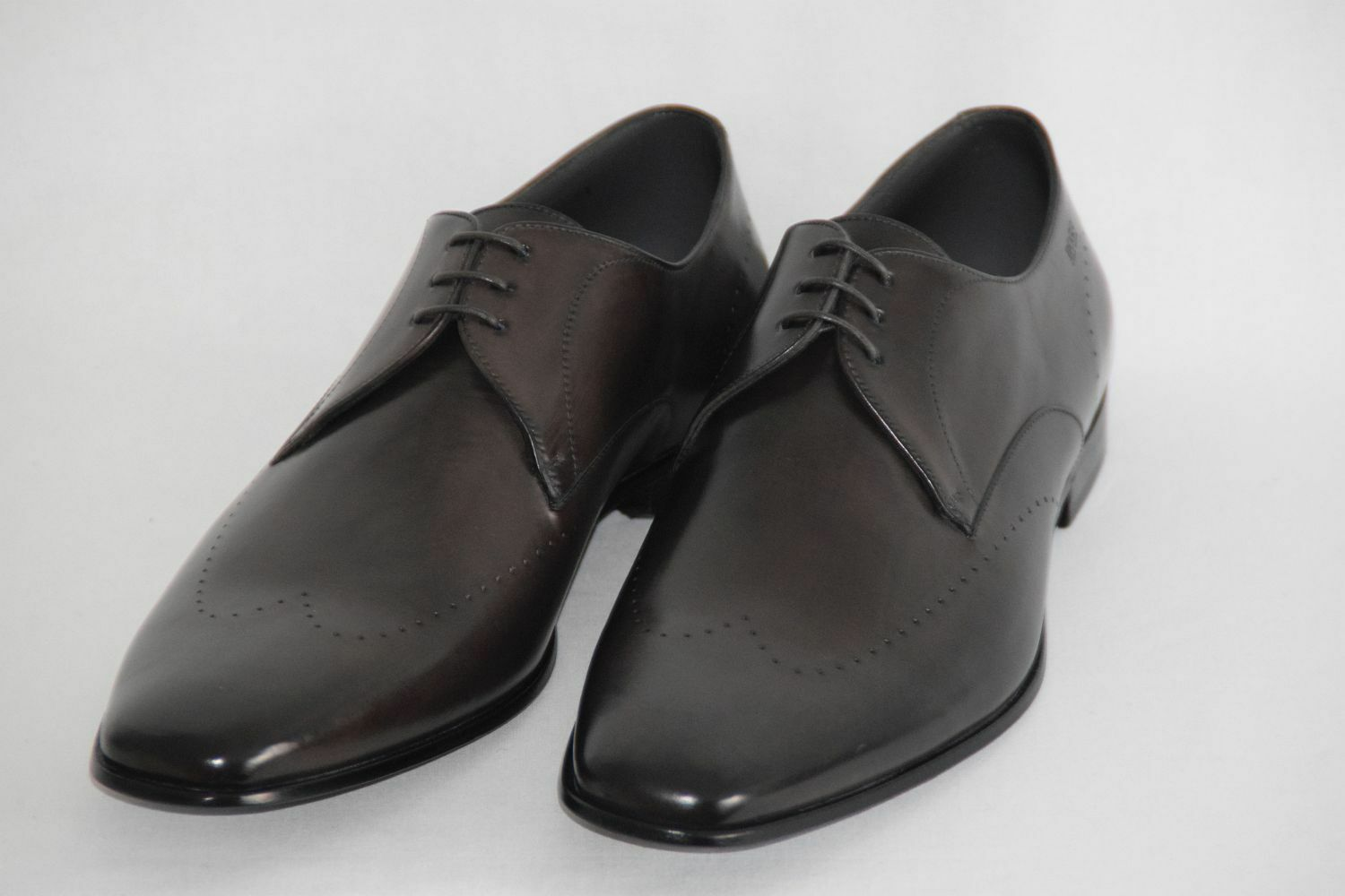 HUGO BOSS Business Chaussures, Taille 43,5 UK 9.5 US 10.5 Made in , Dark marron