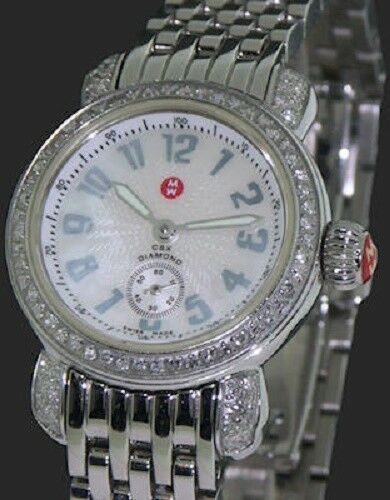 Michele CSX Petite Diamond MOP Dial Ladies Quartz Watch MW03A01