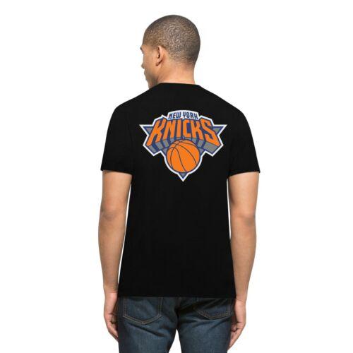 Jet Black 47 Brand NBA New York Knicks Men's Splitter T-Shirt