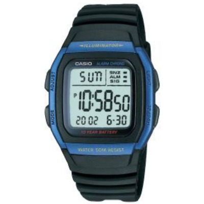 Casio  W-96H-2AV  W-96H  Men's  Alarm  Chronograph  Digital  Sport  Watch   W96