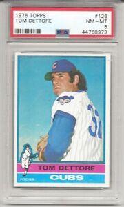 1976-TOPPS-126-TOM-DETTORE-PSA-8-NM-MT-CHICAGO-CUBS-TOUGH-LOW-POP-L-K
