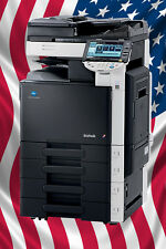 Konica Minolta bizhub C280 28 ppm, All-In-One Color Printer Scan Fax & Finisher