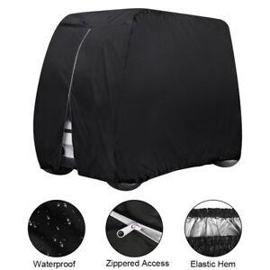 Waterproof-Golf-Cart-Cover-4-Passenger-Dustproof-Storage-for-EZ-Go-Club-Yamaha