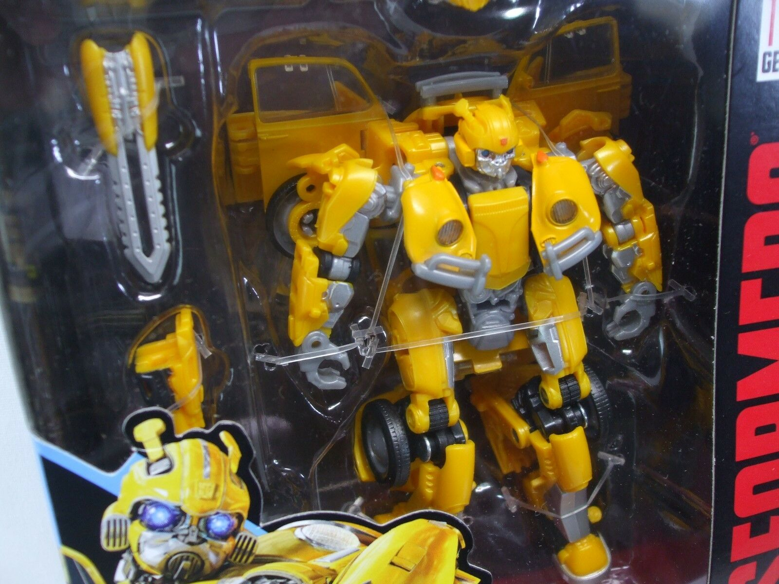 Transformers Movie Bumblebee Studio Series number 18 Deluxe Bumblebee VW Beetle