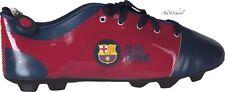 NEW FC BARCELONA PENCIL CASE FOOTBALL BOOT SHOE SHAPE POUCH SACHET FOR KIDS BOYS
