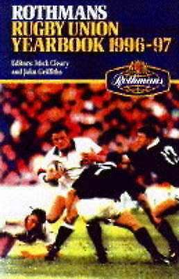 1 of 1 - Rothmans Rugby Union Yearbook 1996-97, , Used; Very Good Book