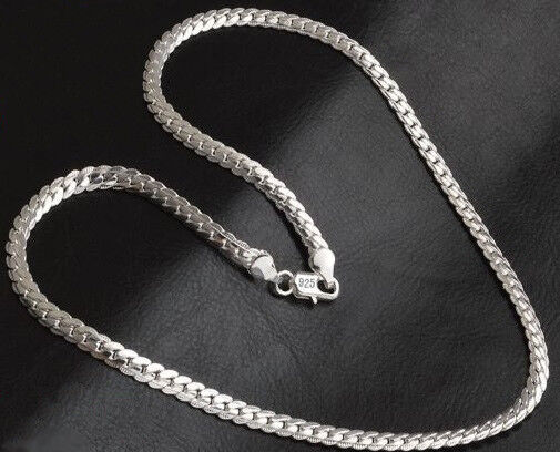 Beautiful Sterling silver 925 sterling Sterling Silver 1.00mm Open Link Curb Chain
