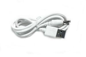 90cm USB White Cable for Motorola MBP36P MBP-36P Parent/'s Unit Baby Monitor