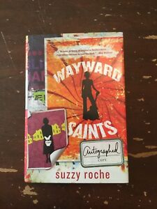 2011-Wayward-Saints-by-Suzzy-Roche-Signed-1st-Edition-Hardcover-with-Dust-Jacket