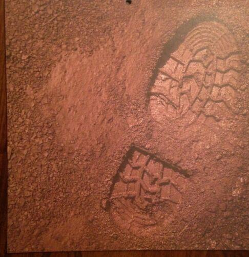 12x12 Footprint In The Mud Scrapbooking Paper