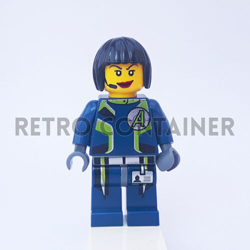 LEGO Minifigures 1x agt029 Agents Omino Minifig Set 8971 Agent Swift