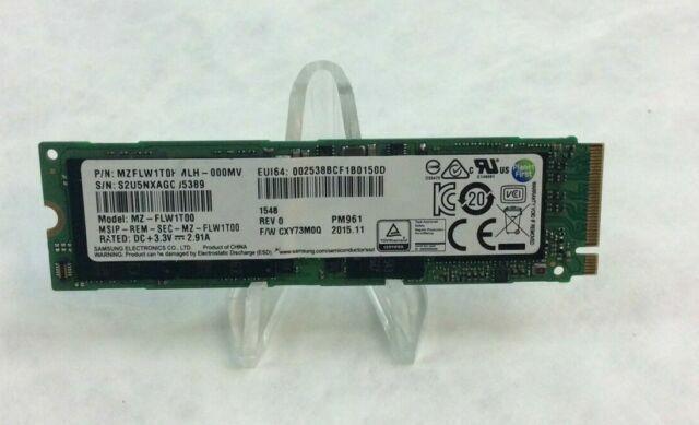 Samsung PM961 512GB M2 PCIe NVMe SSD M.2 500GB FASSST w// 1 YR Warranty FAST SHIP