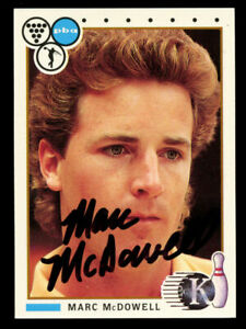 Marc-McDowell-16-signed-autograph-auto-1990-Kingpins-PBA-Bowling-Trading-Card